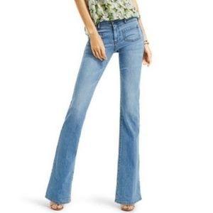 CAbi Malibu Flare Jeans 12 Long